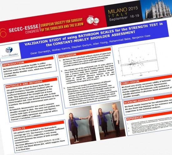 2015 SECEC - ESSSE Congress Milano Poster Presentation - Constant Score